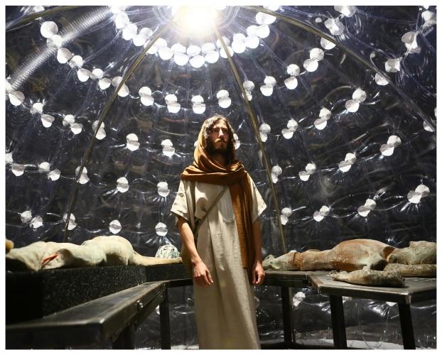 Jesus in Turin at Biennale Arte Venezia