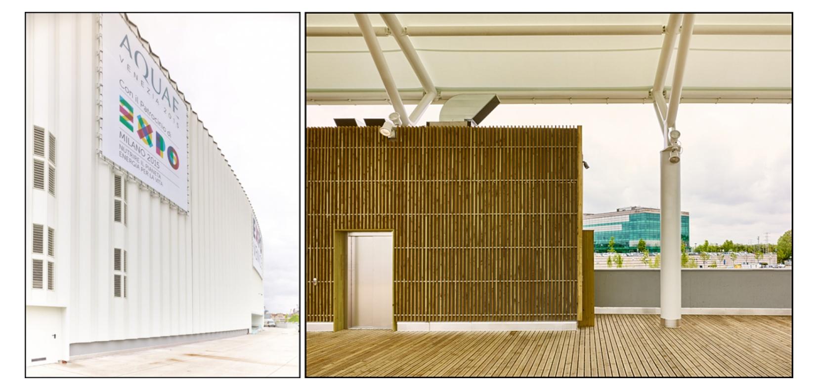 Padiglione Expo Aquae - Marghera (VE) - Arch. M. De Lucchi