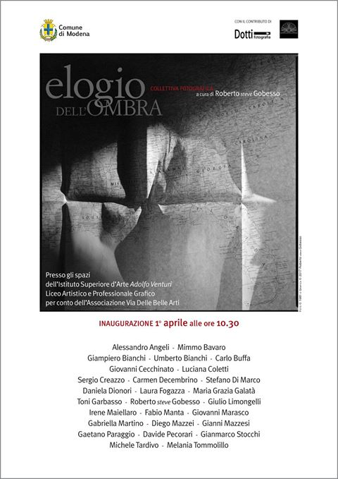 2017 - Collettiva Elogio dell'Ombra - Modena