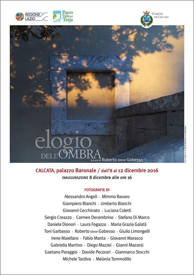 2016 - Collettiva Elogio dell'Ombra - Calcata (VT)