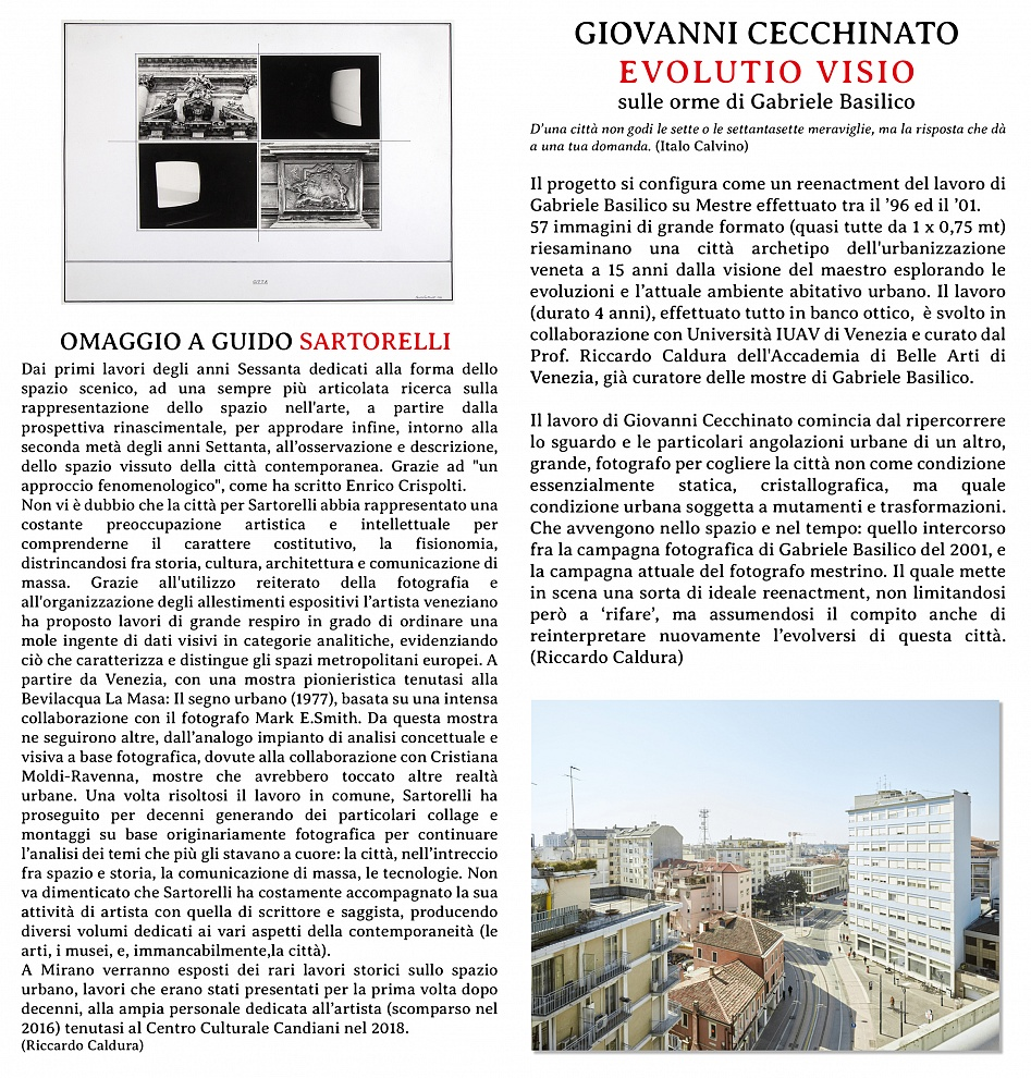 2019 - Evolutio Visio - Mirano Fotografia