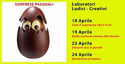 Sorprese Pasquali - Laboratori ludici e creativi