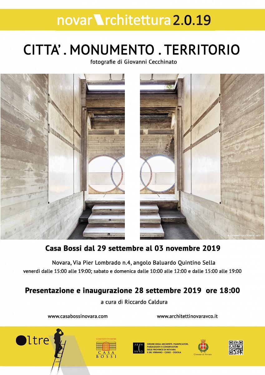 2019 - Città Monumento Territorio - Casa Bossi Novara