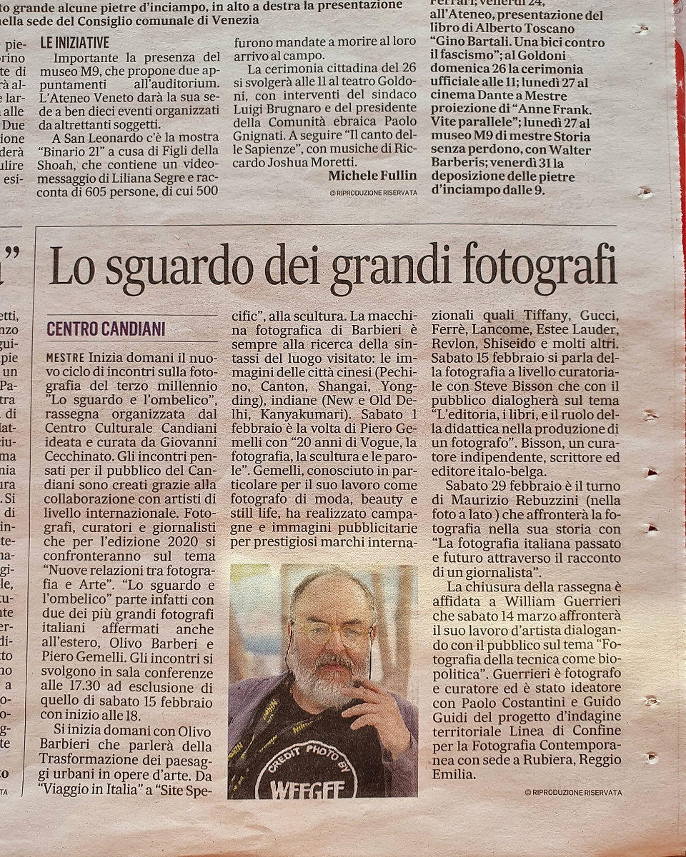 """Articolo apparso sulla pagina Cultura de """"IL GAZZETTINO"""" 17.10.2020 - Articolo apparso sulla pagina Cultura de """"IL GAZZETTINO"""" 17.10.2020"""