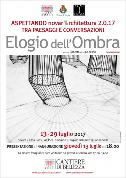 2017 - Collettiva Elogio dell'Ombra - Novara