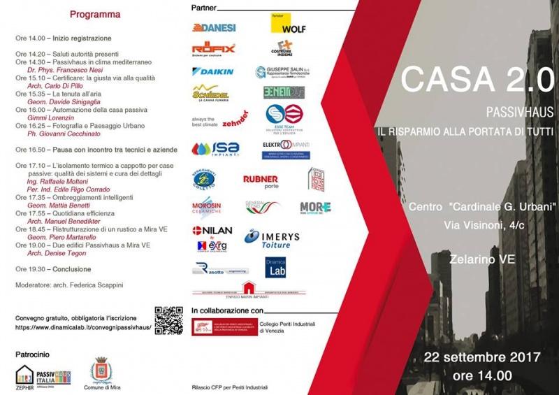 22/09/17 - Convegno Passivhaus - Zelarino (VE)